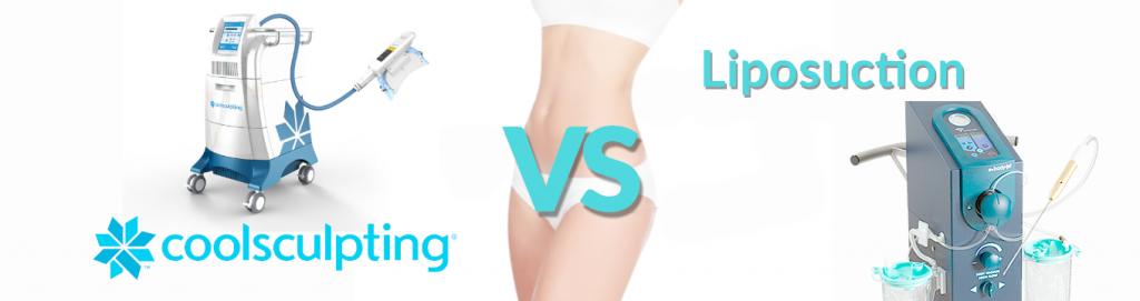 CoolSculpting vs Liposuction