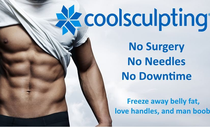 coolsculpting man boobs